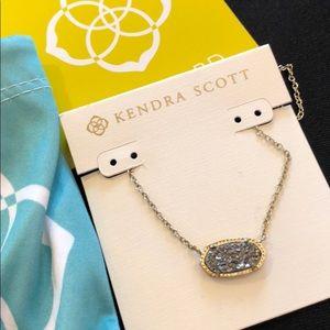 Kendra Scott Elisa Gold Tone Necklace Pendant
